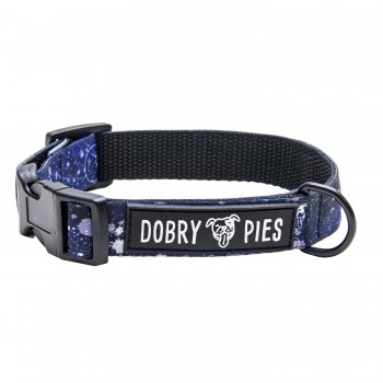 Obroża S z kolekcji SPACE DOG marki Dobry Pies